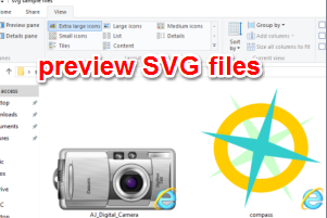 preview svg files in thumbnails
