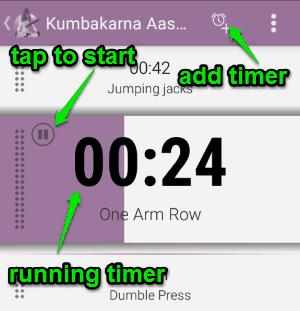 run timer