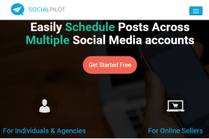 schedule posts on Twitter, Facebook, Pinterest, etc