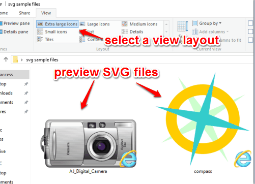 How To Preview SVG Files In Thumbnails View