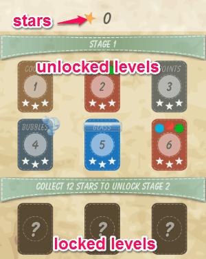 select levels