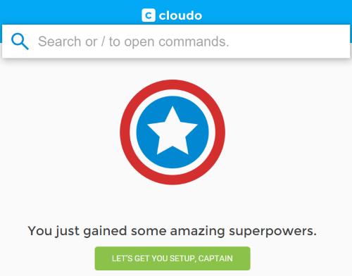 setup your Cloudo account