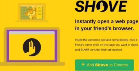 shove home page