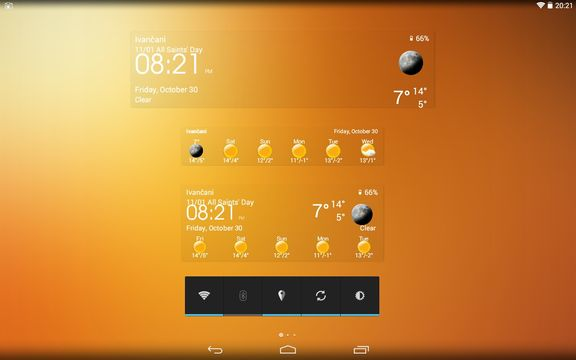 transparent weather widget apps android 1