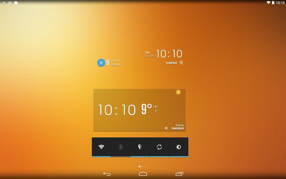 transparent weather widget apps android 2