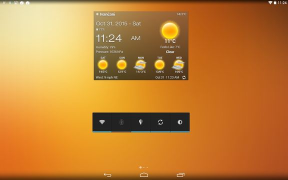 transparent weather widget apps android 3