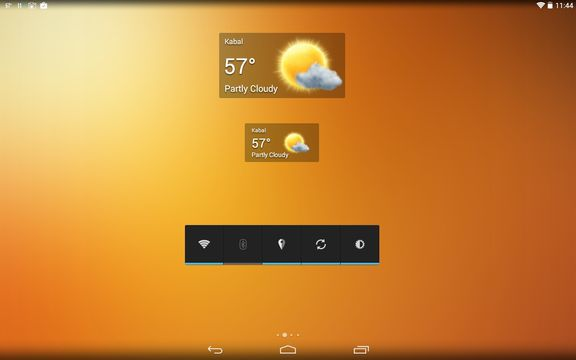 transparent weather widget apps android 4