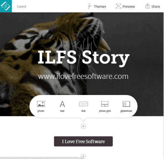 Adobe Slate- create elegant presentations, visual stories and more