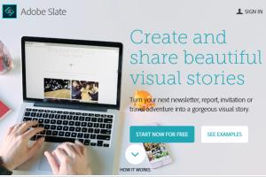 Adobe Slate