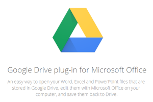 Google Drive plug-in for Microsoft Office