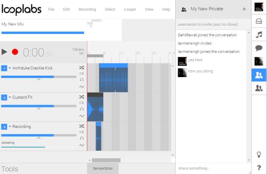 Looplabs- free online music maker