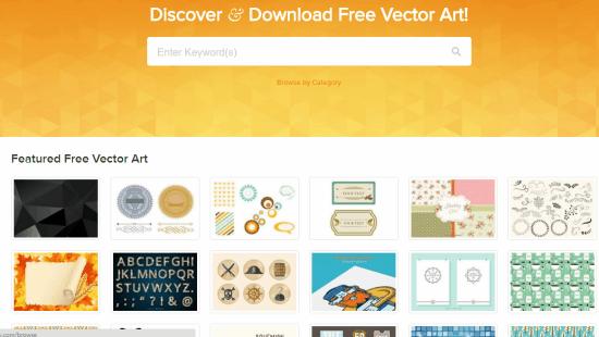 Vecteezy Website Homepage