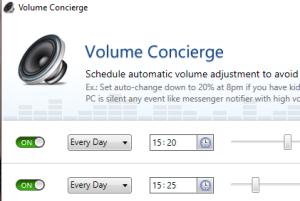 Volume Concierge