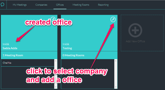 add offices