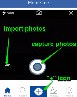capture photos