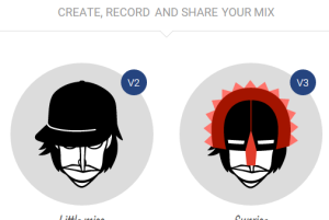 create, record and share your mix