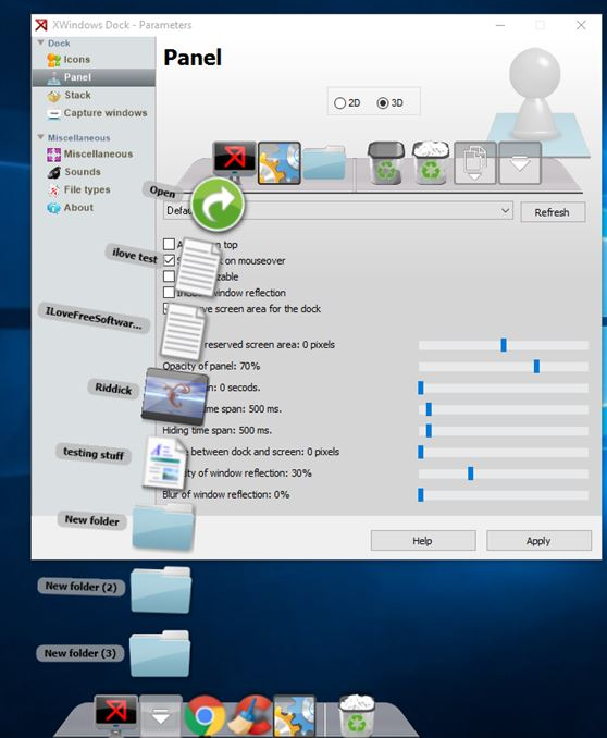 dock software windows 10 2