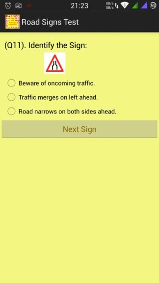 eu road sign learning apps android 1