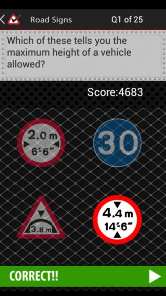 eu road sign learning apps android 3