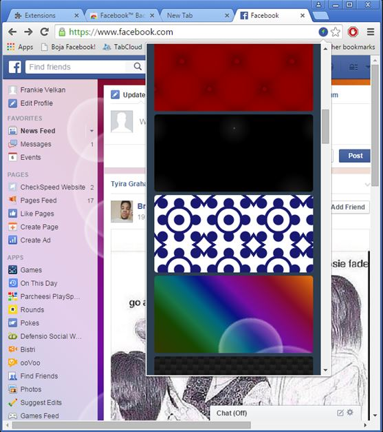 facebook background changer extensions chrome 2