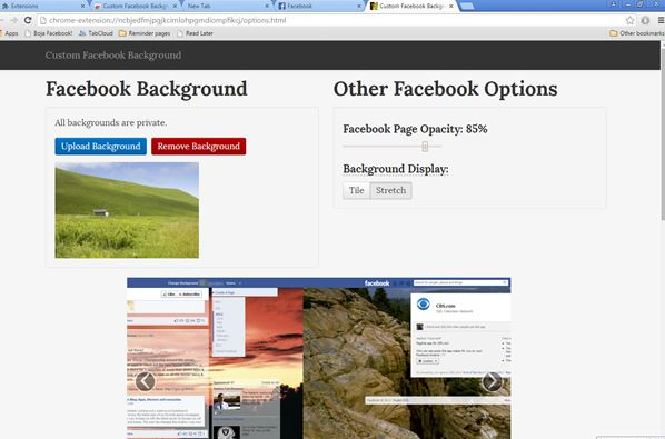 facebook background changer extensions chrome 3