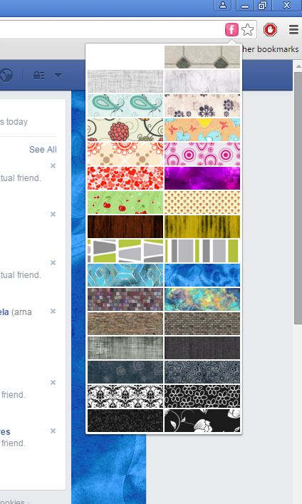 facebook background changer extensions chrome 4
