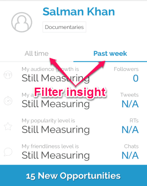 filter insight