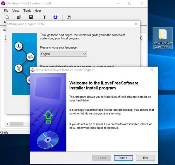 installer creator software windows 10 2