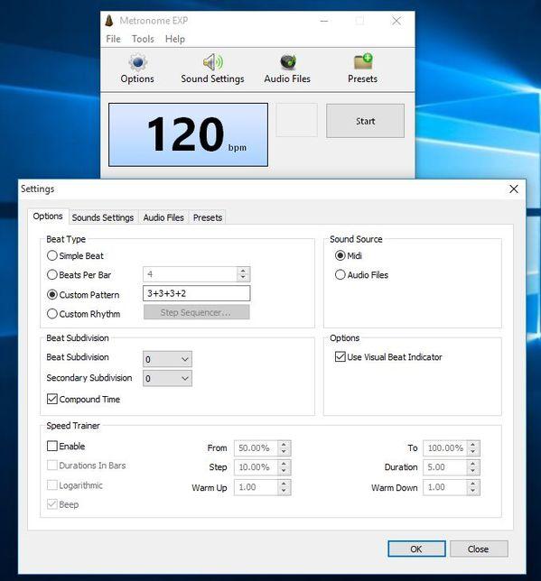 metronome software windows 10 2