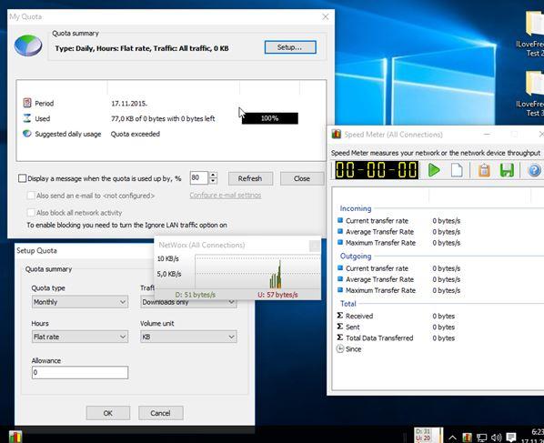 network meter software windows 10 1