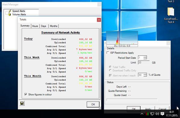 network meter software windows 10 2