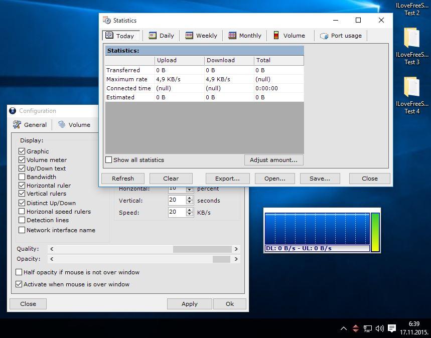 network meter software windows 10 3