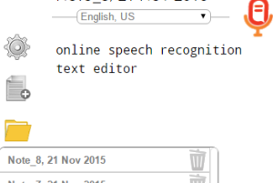 online speech recognition application
