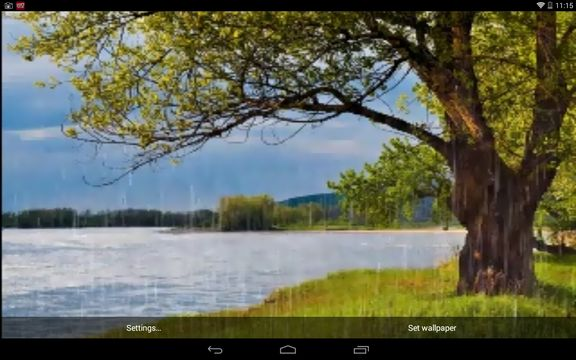 rain live wallpaper apps android 3