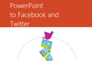 share from PowerPoint to Facebook and Twitter