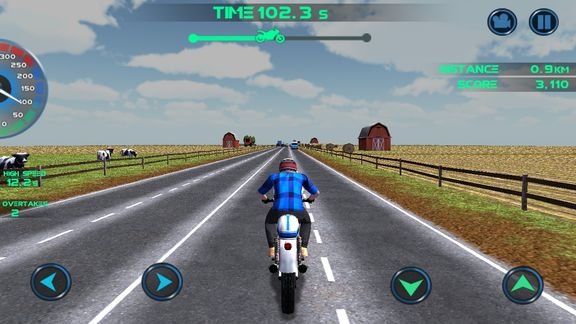 traffic racing games android 2
