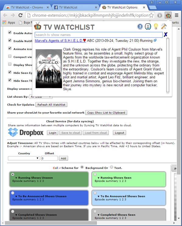 tv guide extensions google chrome 1