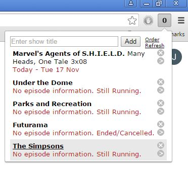 tv guide extensions google chrome 2