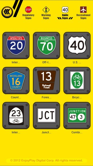 us road sign learning apps android 2