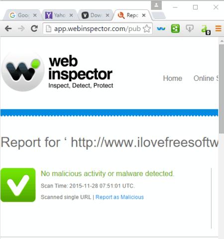 web inspector extension