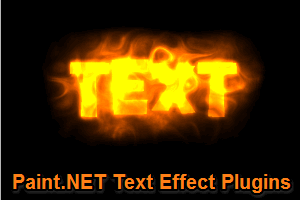 4 free Paint.NET text effect plugins