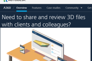 A360- free online 3D file viewer and sharer