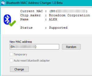 change mac address iphone how to change the bluetooth mac address of your laptop i 13774