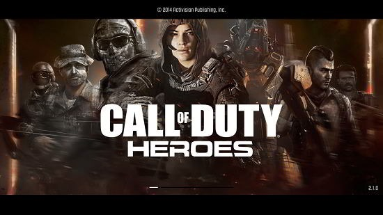 Call Of Duty Heroes Main Screen