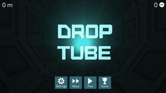 Drop Tube main screen