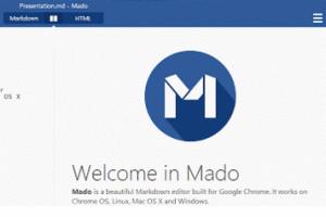 Mado- free Markdown editor Chrome app