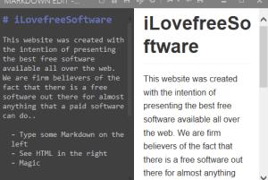 Markdown Edit- Free Markdown Editor Software