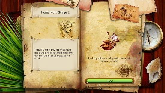 Set sail select level objectives