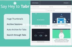 Tabr- free Chrome tab manager