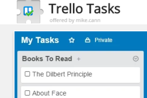 Trello Tasks Chrome extension